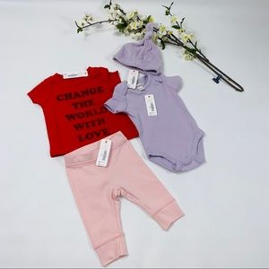 Gymboree 0-3 infant clothes set $63 msrp